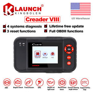 Us Stock Launch Creader Viii Car Diagnostic Tool Obdii Code Scanner As Crp129
