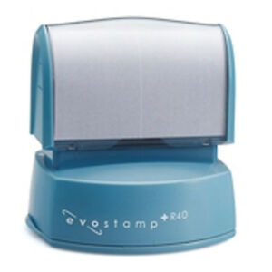 Evostamp Plus R40 Pre inked Round Stamp Perfect For Professional Logo Design