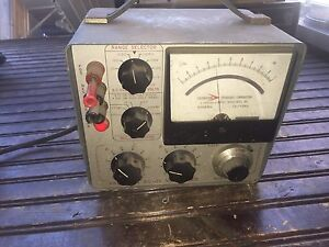 Vintage Calibration Standards Corp Ac Dc Voltmeter Model Ac 100a