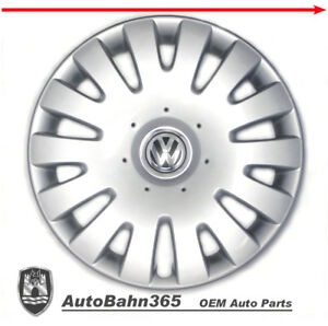 New Genuine Oem Vw Hub Cap Jetta Rabbit 2005 2010 14 spoke Cover Fits 16 Wheel
