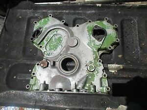 1974 John Deere 2630 Diesel Tractor Timing Cover Housing Free Ship Ar58196