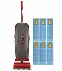 Oreck Commercial U2000rb 1 Commercial 8 Pound Upright Vacuum With 6 Oreck Bags