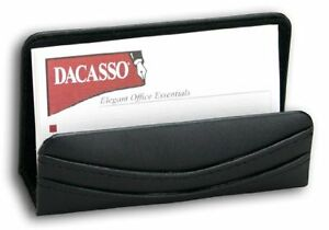 Dacs a1007 dacasso Black Leather Business Card Holder
