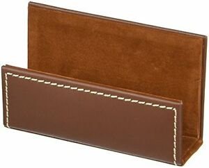 Dacs a3207 dacasso Leather Business Card Holder Rustic Brown a3207