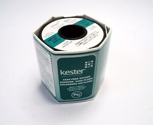 Lot 25 Spools Kester Sn96 5ag03cu 5 58 275 Lead Free Solder Wire 1lb 1 2mm