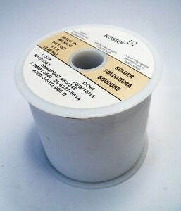 Kester Sn63 Pb37 50 245 Solder Wire 5lbs 1 2mm lot Of 10 Spools