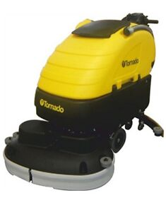 Tornado Bd 28 20 Traction Drive Large Floor Autoscrubber w Agm Batteries