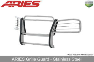 Aries Polished Stainless Steel Grille Brush Guard 2007 2014 Gmc Yukon Xl 1500