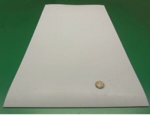 Teflon Ptfe Virgin Sheet 2mm 078 X 12 X 24 White