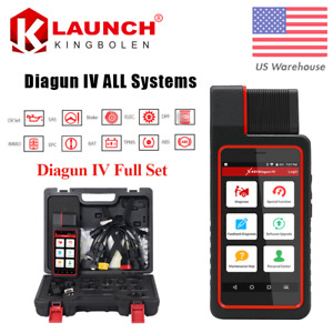 Launch X431 Diagun Iv Obd2 Obdii Scanner All System Scan Pad Diagnostic Tool