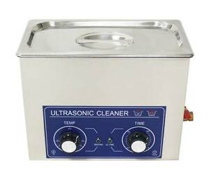 6 5l Ultrasonic Cleaner Timer Heater 180w Jewelry Watches Dental Tattoo 110 220v