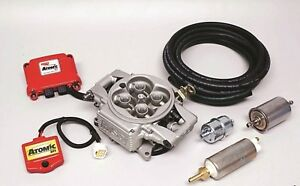 Msd Atomic Efi Throttle Body Systems Fits All 4 Barrel Square Bore Manifolds