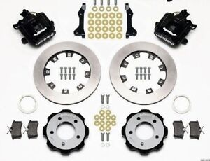 2006 2012 Honda Civic Combination Rear Brake Kit Wilwood With 12 19 Rotors
