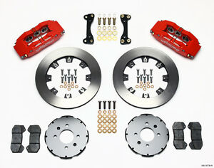 Honda Civic crx del Sol Wilwood Dynapro 6 Front Big Brake Kit 12 19 Rotors