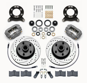 Wilwood Classic Series Dynalite Front Brake Kit Fits 1970 1973 Mustang cougar