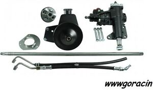 Borgeson Power Steering Conversion Kit Fits 1965 1966 Ford Mustang With Manual