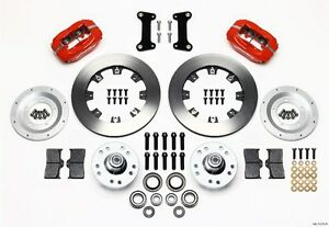 1982 1992 Chevrolet Camaro Wilwood Dynalite Front Big Brake Kit 140 11275