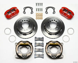 2005 2013 Ford Mustang Wilwood Dynapro Rear Parking Brake Kit 11 Rotors