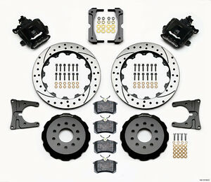 Wilwood Combination Rear Parking Brake Kit Fits 2005 13 Ford Mustang 13 Rotors