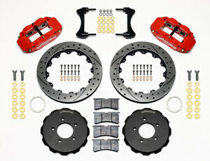 Wilwood Superlite 6r Front Big Brake Kit Fits 2006 2017 Honda Civic 13 Rotors