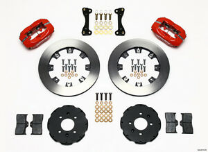 Honda Civic Crx Del Sol Dynalite Wilwood Front Big Brake Kit Wilwood 140 6310