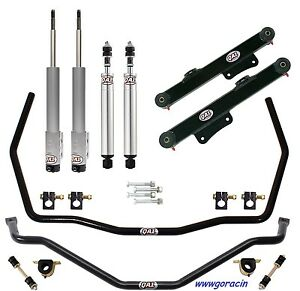 Qa1 Handling Level 1 Suspension Kit fits1994 1995 Ford Mustang shocks sway Bars