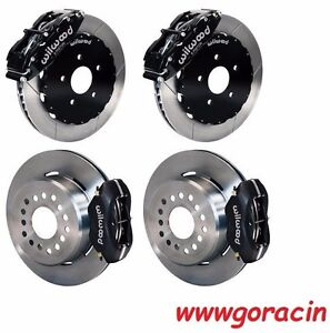Wilwood Disc Brake Kit complete 1993 1997 Camaro firebird black Calipers chevy