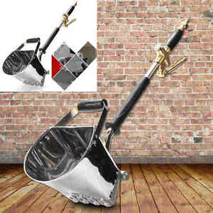 Cement Mortar Concrete Air Stucco Sprayer Hopper Wall Plastering Paint Gun Tool