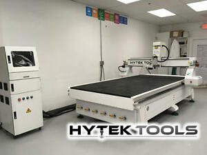 Demo Cnc Machine Router Table Hytek Tools Sign Master Ii