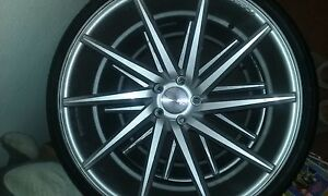 Vesson Wheel And Tires 22