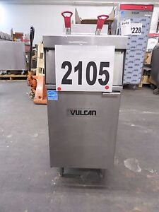 2105 vulcan Free Standing Electric Deep Fryer Model 1er50a 1
