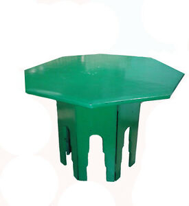 An Octagonal Side Table From Thailand