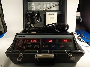 Bacharach Combustion Analyzer Model 300 W accessories And Users Manual