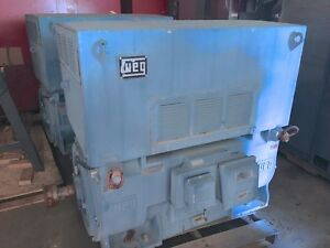 250 Hp Weg Three Phase Induction Motor With Squirrel Cage Mgp 5010