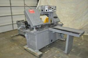 Doall Model C 80 Automatic Horizontal Bandsaw Stock Number 1089