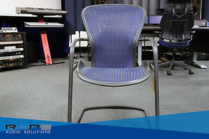 Herman Miller Aeron Side Chair Lumbar Support Not Included