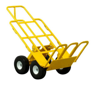 Multi Mover 4 Position Commercial Dolly Heavy Duty Hand Truck 750 Lbs Capacity