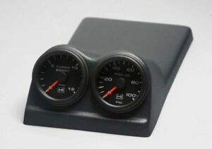 85 87 Regal Gn Gnx Grand National Console 2 Pod 52 Mm 2 1 16 Gauges Med Gray Usa