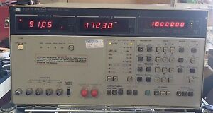 Hp 4192a Lf Impedance Analyzer