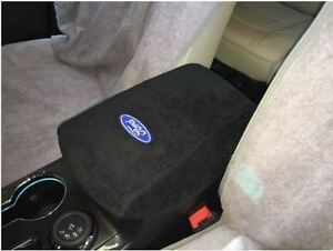 2010 2017 Ford Explorer Center Console Cover Armrest Embroidered Ford Logo