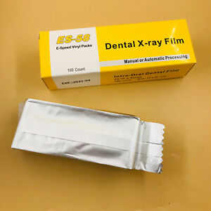 100pcs Dental X ray Film Intraoral Periapical E speed Es 58 For Adult 31 41 Mm