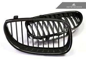 Carbon Fiber Replacement Front Grille For 06 10 Bmw E60 M5
