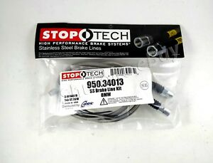 Stoptech Ss Braided Front Brake Lines For 07 11 Bmw 328i Xdrive 328xi Awd