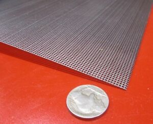 Perforated Steel Sheet 024 Thick X 24 X 24 045 Hole Dia