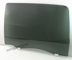 Driver Left Side Rear Door Window Glass For 07 20 Toyota Tundra 4 Dr Crew Cab