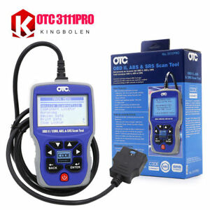 Otc 3111pro Obd2 Scanner Otc 3111pro Trilingual Scan Tool Obd Ii can Abs Airbag