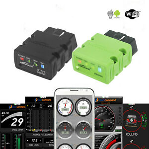 Wireless Wifi Obd2 Car Code Reader Diagnostic Scanner For Iphone Android
