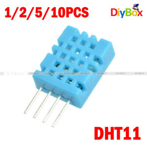 1 2 5 10pcs Dht11 Dht 11 Digital Temperature And Humidity Sensor For Arduino