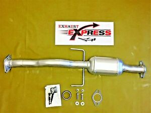 Direct Fit Rear Catalytic Converter For 2002 2003 Mazda Protege 5 2 0l gaskets