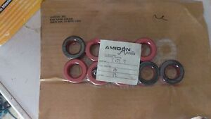 New Amidon Iron Powder Toroidal Core Lot Of 9 Sealed Pn T157 2